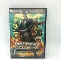 Nobunaga's Ambition: Iron Triangle Sony PlayStation 2 PS2 Video Game No Manual