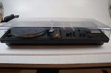 Braun Audio 308S Vintage Kompaktanlage gecheckt Plattenspieler 70er Jahre black