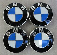 4x original BMW Felgendeckel 5er 6er 7er Nabendeckel -kappen 6783536-03 OEM