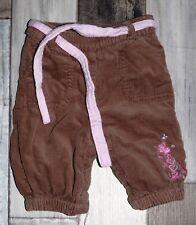 ~ Superbe pantalon velours chaud KIMBALOO fille 1 mois ~