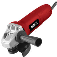 "Moss Electric Angle Grinder 115mm 4.5"" 500W Cutting Grinding 240v"