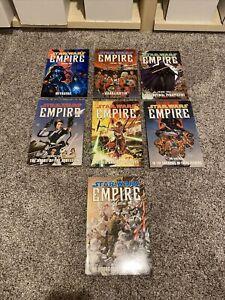 Star Wars Empire Dark Horse Graphic Novel  / TPB  Comics Set 1 - 7 Complete