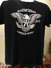 Sailor Jerry Spiced Rum Men's Graphic Short Sleeve T Shirt  Large