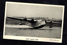 Mint Imperial Airways England Empire FLying Boat Seaplane Real Picture postcard