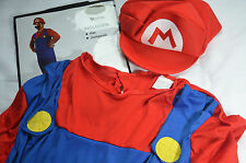 Super Mario Nintendo Costume Fancy Dress Outfit Size Large 56 Adult NEW NWT