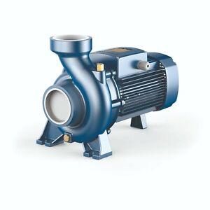 High Flow Rates Centrifugal Pedrollo Pump HF6A V.230-460/60Hz  3HP 3-phase