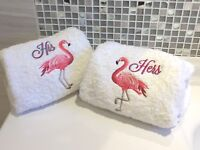 Scottish Highland Cows Personalised Towels Hand and Bath Towel Sets Facecloth