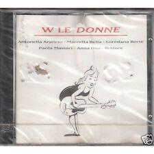 W Le Donne MARCELLA BELLA LOREDANA BERTE' ANNA OXA RETTORE CD 1994