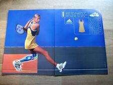 ADIDAS TENNIS - ANNA KOURNIKOVA 1999 VINTAGE ORIGINAL MAGAZINE ADVERT