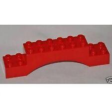 LEGO® Duplo Bogenstein 2x10 2x10x2 rot NEU