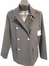 Polyester Peacoat Coats & Jackets for Women