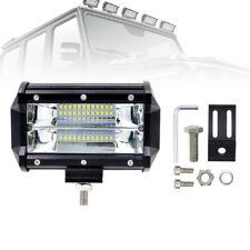1X 72W LED Work Flood Square Spot Light 12V 24V Off Road Truck Boat SUV Fog Lamp