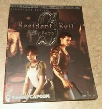 Resident Evil 0 Strategy Guide LOT - RARE OOP RE0 Zero HD Remake Origins PS4 One