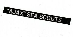 Boy Scout Badge AJAX SEA SCOUTS Group Strip