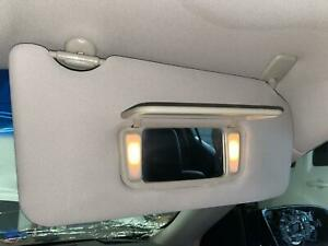 2013 2014 NISSAN MAXIMA Right Passenger Sun Visor Shade w/ Mirror & Lights, GRAY