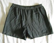 Pyjamahose Schlafanzughose Shorty kurze Hose Gr. 140 grau rundum Gummizug
