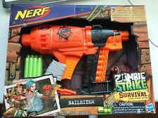 Hasbro Nerf Zombie Strike Survival System with 8 Darts for Kids - New Other