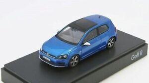 "VERY RARE VW GOLF 5G 7 VII ""R"" 3 DOOR LAPIZ BLUE R32 1:43 SPARK (DEALER MODEL)"