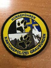 SWISS SWITZERLAND PATCH POLICE POLIZEI K-9 CANINE SPECIAL TEAM - ORIGINAL!