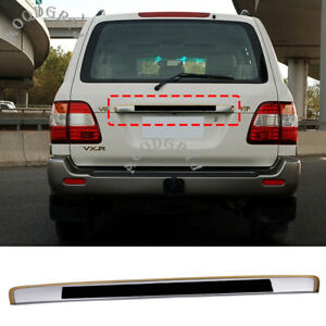 Rear Trunk Upper Trim Trunk Lid Cover For Toyota Land Cruiser LC100 1998-2007
