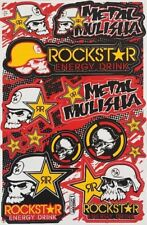 13 Metal Mulisha Rockstar Energy Stickers Dirt Bike Motocross Helmet BMX Decals