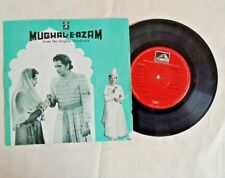 "1960's OLD 45 RPM ""MUGAL-E-AZAM MOVIE SONGS"" ANGEL RECORDINGS, GRAMOPHONE RECORD"