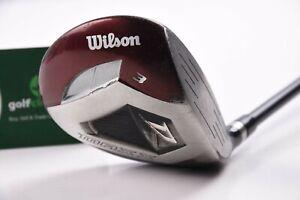 Wilson Deep Red Max #3 Wood / 15 Degree / Regular Flex Max X Shaft / WIFMAX003