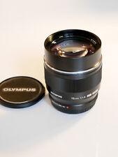 Olympus M.Zuiko Digital 75 mm F1.8 schwarz Objektiv Lens black 75mm 1.1.8