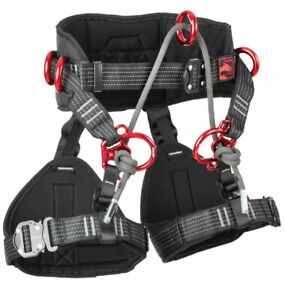 Simarghu® Fire Male Arborist Harness /  Size: M/L / NEW / FAST POSTING