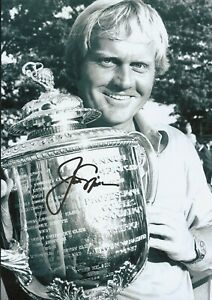 Jack Nicklaus Autographed signed photo