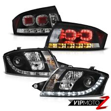 "2000-2006 Audi TT 1.8T Tail Lights Headlights DRL E-Code LED Bar ""Super Bright"""
