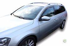 VW Passat B6/B7 2005-2015 Set di Deflettori vento anteriore HEKO COLORATA 2pc