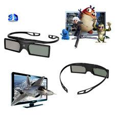 2X Universal Aktiv BT 3D Brille Shutter Glasses für Samsung/Panasonic 3D TV