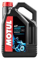 4 LT Litri Olio Motore Per Tagliando Moto Motul 4T 3000 20W50 Minerale MA2