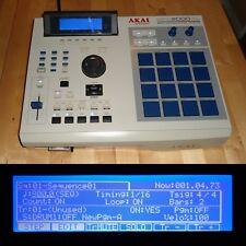 CUSTOM Akai MPC 2000XL NEW LCD Blue LEDs/PADS 1GB CF MAXED RAM