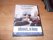 About a Boy (DVD Movie, 2003, Full Frame) Rachel Weisz Hugh Grant Comedy NEW