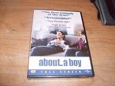 About a Boy (DVD Movie, 2003, Full Frame) Rachel Weisz Hugh Grant Comedy NEW