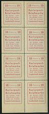 Lokalausgabe Lauterbach Mi.Nr. 1 Klb mit allen Abarten postfr. Mi.W. 240 € (527)