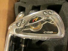 NEW TaylorMade r7 cgb MAX Irons 4-PW Satin steel REGULAR  lefty LH
