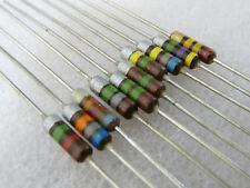 5 résistance carbone 1M8 0,5W 10% carbon comp resistor