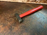 Antique 1 1/4lb Hex Head Hammer Bladesmith Saw Makers Hammer, Anvil Tools