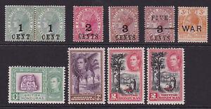 British Honduras. Mint selection.