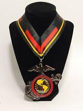 USMC 38th Marine Corps Marathon 2013 Spinner Finisher Medal Lanyard October 27