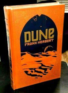DUNE Frank Herbert Brand NEW IN SHRINKWRAP 2013 Leather HC Science Fiction