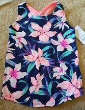 Carter's Girls Island Floral Tank Top Racer Back- Size 2T- NWT