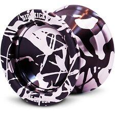 Silver & Black Aluminum Sidekick PRO YoYo - REsponsive