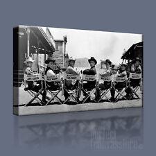 THE MAGNIFICENT SEVEN ORIGINAL CAST ICONIC CANVAS ART PRINT PICTURE Art Williams