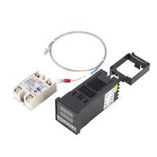 Digitale PID Termostato Termoregolatore REX-C100 + 40A SSR + K Termocoppia Sonda
