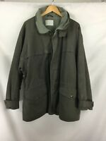 Valentino Men's Waxed Jacket Green Colour Size it 54/uk 44 warm lining