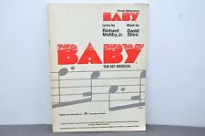 Baby The Musical (Vocal Selections): Piano/Vocal/Chords Paperback 1984